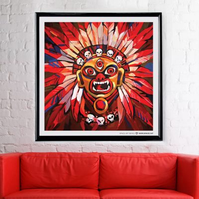 original wall art poster by ALLY