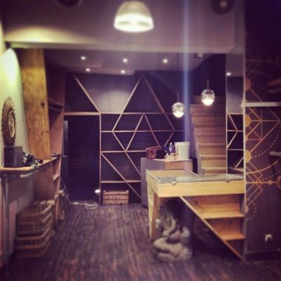 exclusive shop interior design and custom furniture by Ally