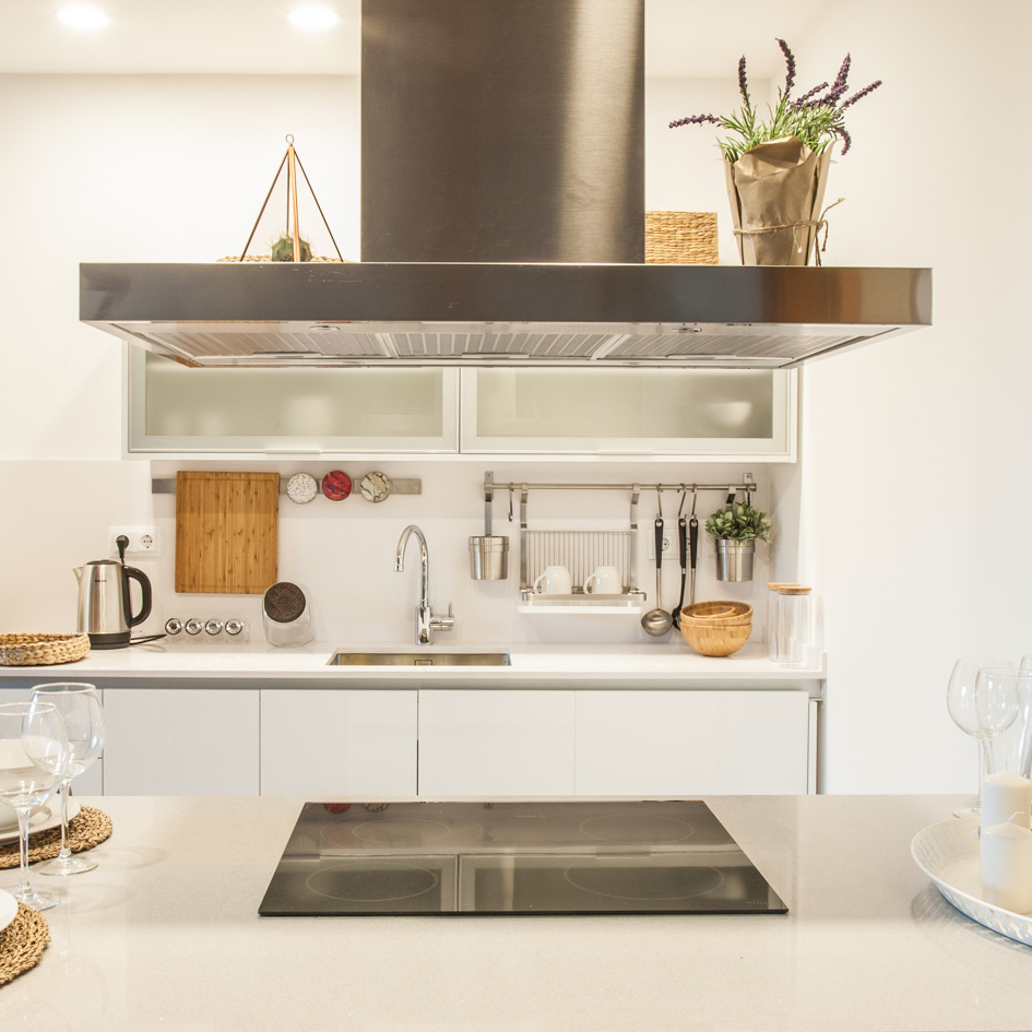 kitchen unit, home staging and exclusive interior design by ALLY
