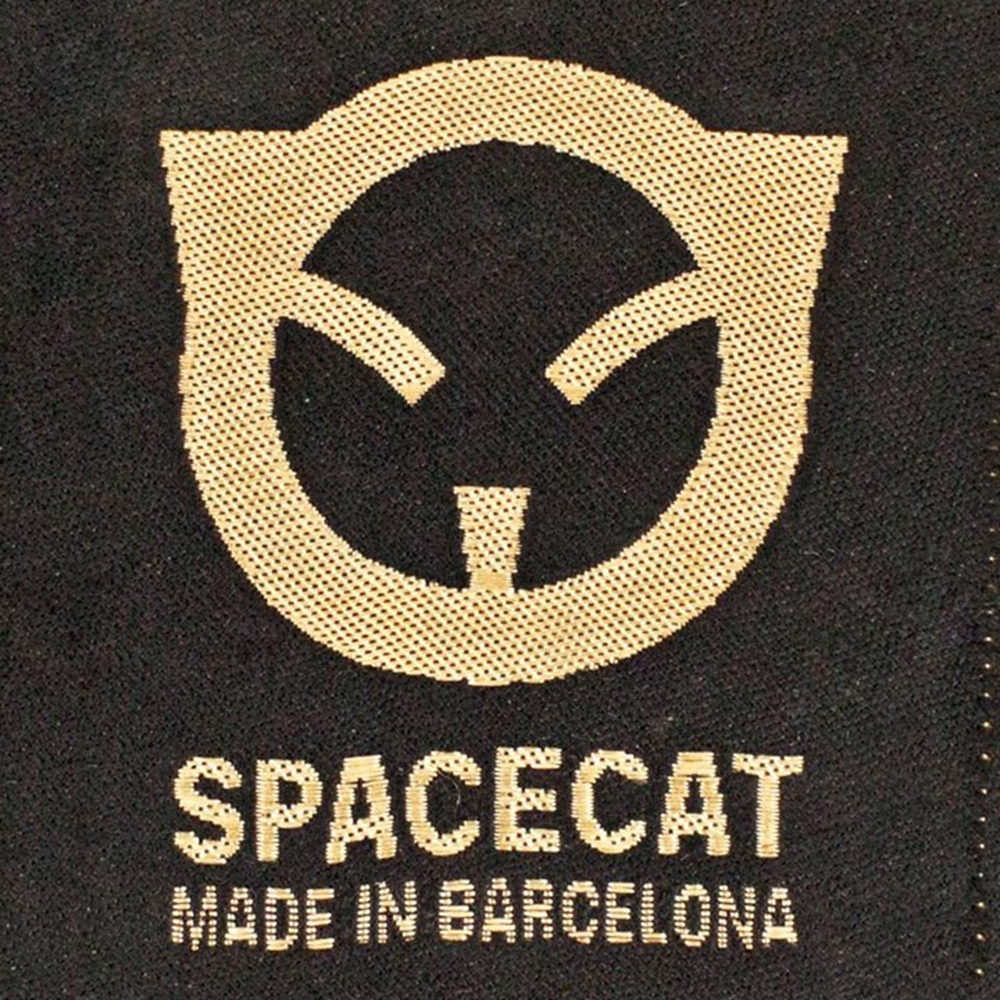 Space.cat logo design and visual identity