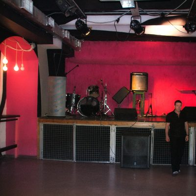 stage design for Zhest club in Moscow