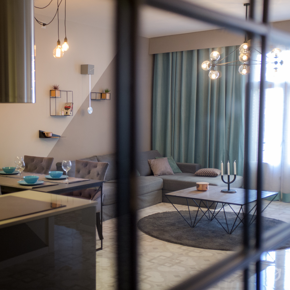 salon interior design, decoration and home staging by ALLY