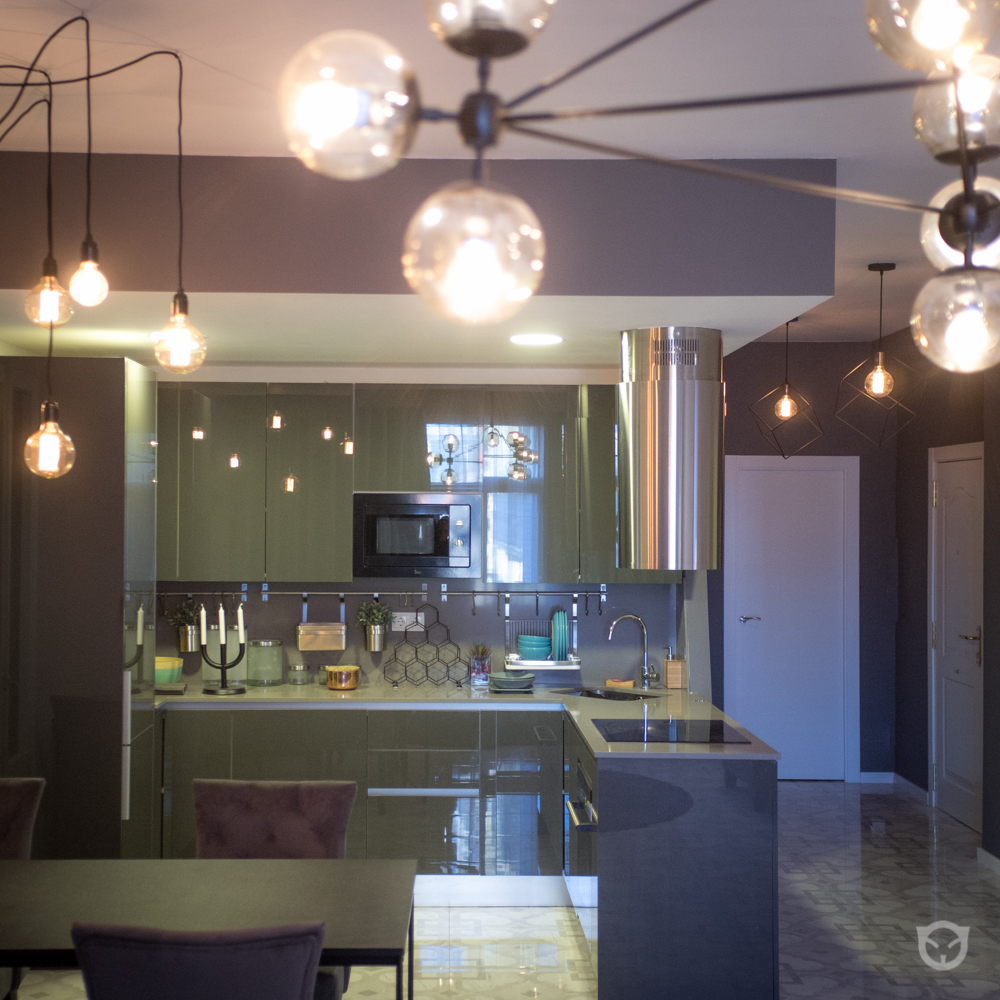 kitchen - salon interior design and home staging by ALLY