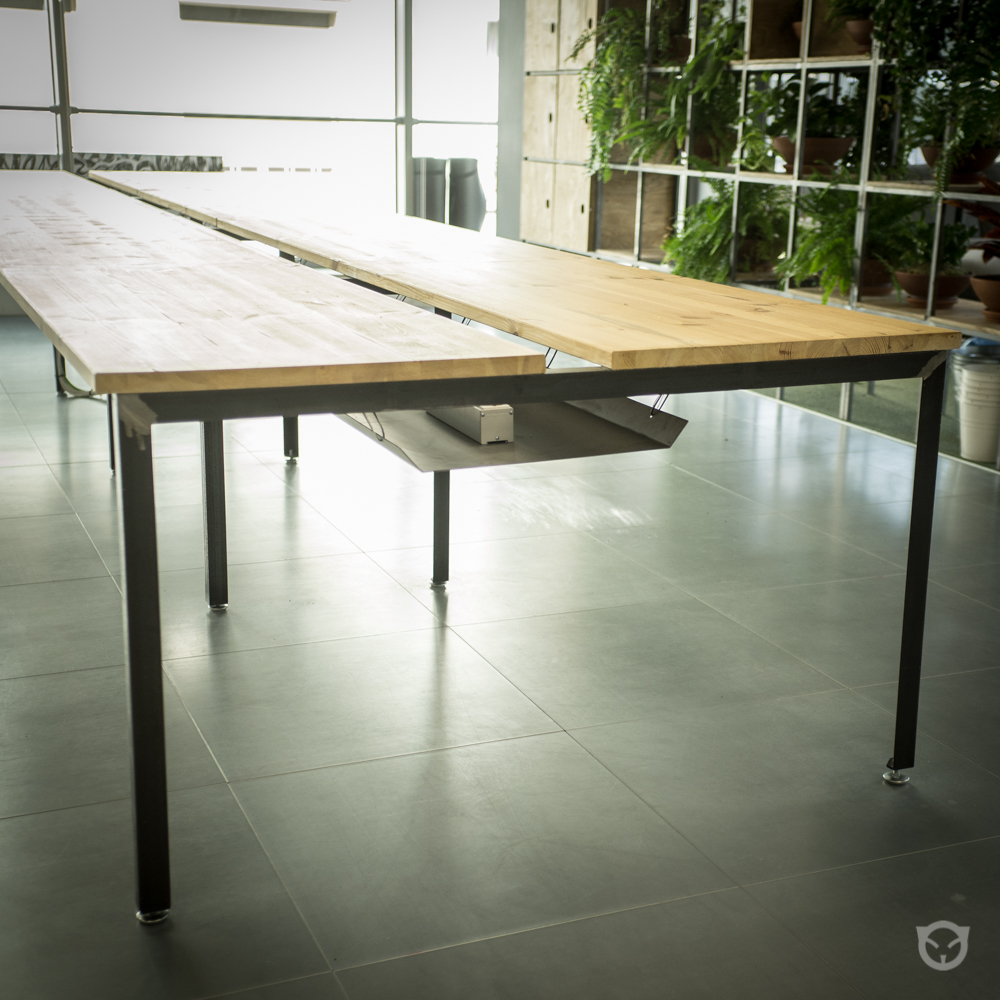 Office table. Custom furniture design and production.