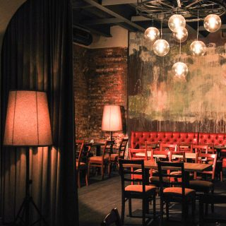 Restaurant - club design and renovation in Moscow