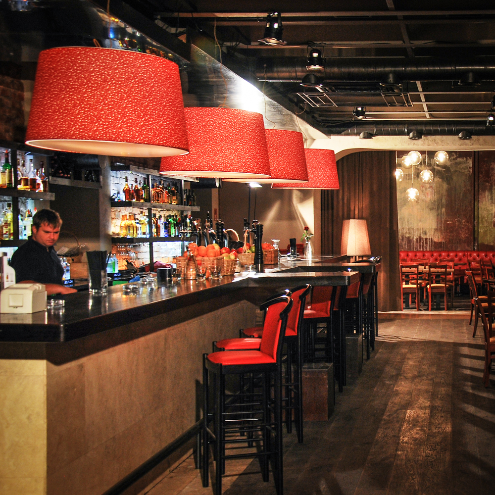 Bar design and renovation in Moscow