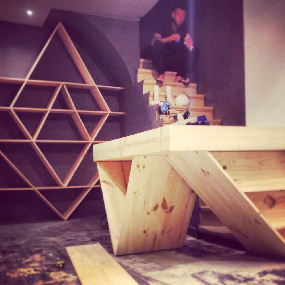 Custom furniture design and production