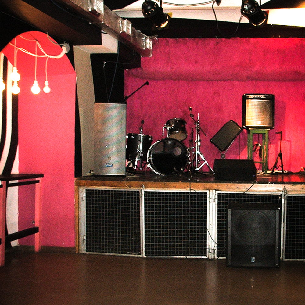 club design and stage unit in Moscow